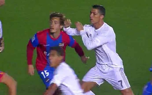 Posible agresi�n de Cristiano Ronaldo a Orban