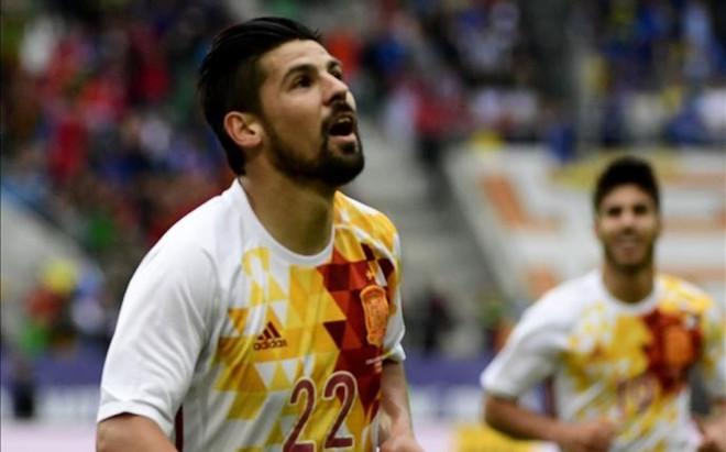 Nolito se exhibi� con dos golazos en el amistoso ante Bosnia