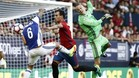 La Real Sociedad sac� petr�leo de los fallos de Osasuna