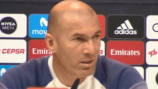 Zidane ve posible la remontada del Barça