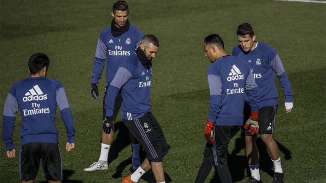 Zidane recupera a Isco para el partido de Copa ante el Celta