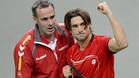 Alex Corretja lanza un mensaje optimista a Ferrer