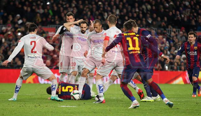 صور : مباراة برشلونة - أتليتيكو مدريد 1-0 ( 20-01-2015 )  1421883703599