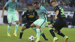 El Barcelona se enfrenta al Borussia Mgladbach