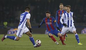 Real Sociedad,0 - FC Barcelona,1