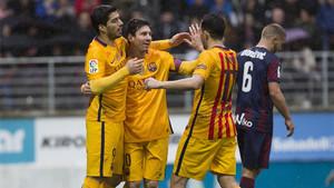 El Barça venció en Ipurúa la temporada pasada