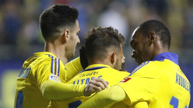 Video resumen del Cádiz - Almería (1-0) - Liga 123 - Jornada 22