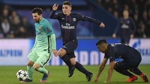 A Zeman le gustaría ver a Messi y Verratti en el mismo equipo