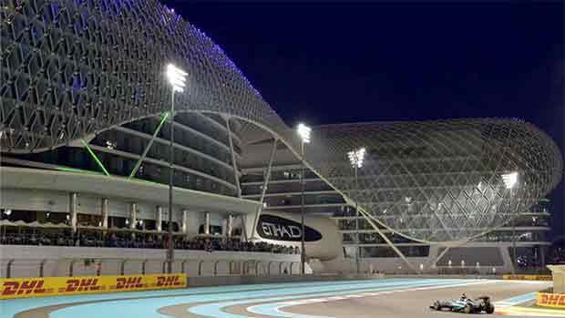 El circuito de Yas Marina del GP de Abu Dhabi de F1 (ES)