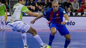 Ferrao marcó dos goles para el Barça Lassa en Jaén que, al final, no sirvieron para nada