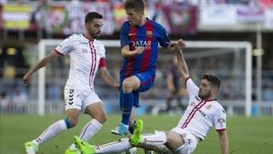 El Barça B no pudo superar a la Cultural en el Mini... pero queda la vuelta