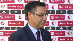 Bartomeu habló de los fichajes del Barça