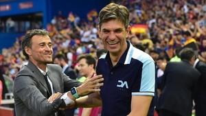 La final de Copa fue el último partido en que Pellegrino dirigirá al Alavés