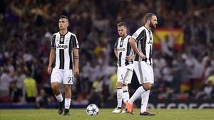 Paulo Dybala dejó una imagen decepcionante en la final de la Champions League