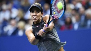 Madison Keys se impuso a CoCo Vandeweghe