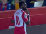 Caicedo se estren� esta temporada de cara al gol con el Espanyol