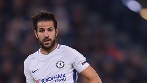 Cesc Fàbregas está muy feliz en el Chelsea