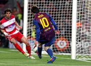 Con este gol, Messi igualaba a C�sar