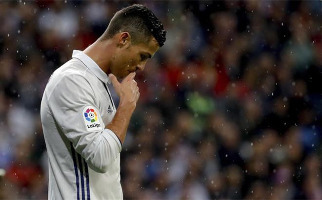Cristiano Ronaldo durante el Real Madrid - Athletic Club de LaLiga 2016/17 (2-1)