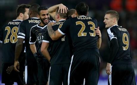 El Leicester sorprendi� y sigue sorprendiendo con una temporada excepcional