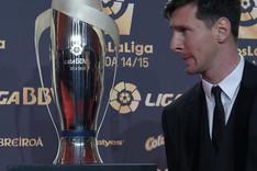 Leo Messi, en la gala de la LFP