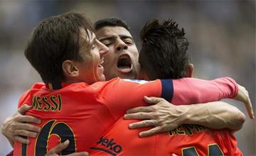 Los goles del Espanyol - Bar�a