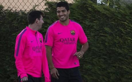 Luis Suárez: En el Barça los partidos se hacen difíciles