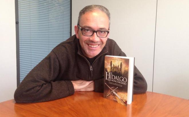 Luria novela los seis d�as que pas� en Barcelona el padre del Quijote