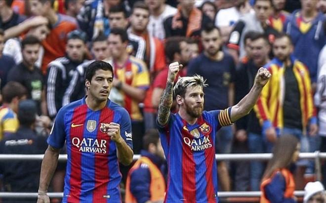 Messi fue gravemente insultado en Mestalla