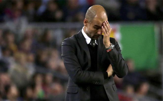 Pep Guardiola sufri� una goleada en el Camp Nou