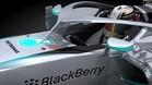Prototipo de Mercedes F1 con el cockpit protegido