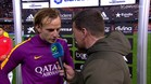 "Rakitic: ""Lo importante son los t�tulos, no los r�cords"""