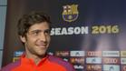 Sergi Roberto quiere seguir los pasos de su ex compa�ero Alves en el Barcelona como lateral