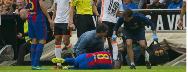 Exclusiva Sport: As� vivi� Leo Messi la lesi�n de Andr�s Iniesta