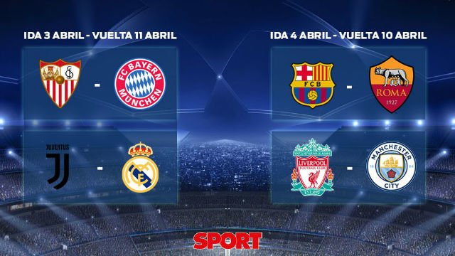 UEFA Champions League draw: Who plays who, when and where in the 4rs