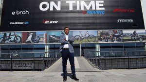 Álvaro Redondo, gerente de Ebroh Bikes y On Time Moving