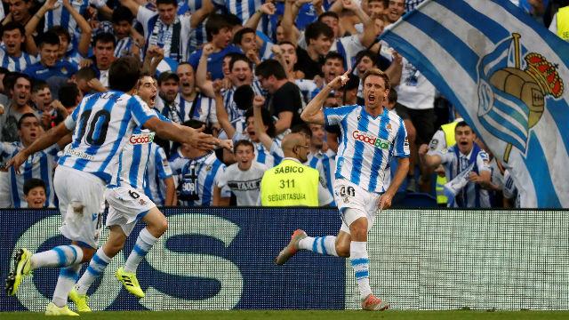 El nuevo Anoeta se estrena con triunfo ante el Atlético