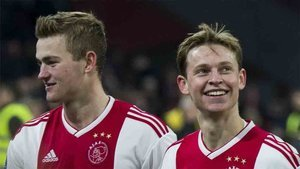 El Ajax asume la marcha de De Jong y De Ligt