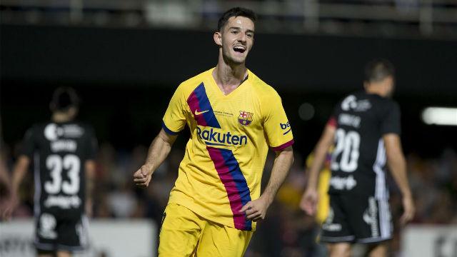 Alejandro Marqués anotó el segundo gol ante el Cartagena