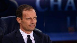 Allegri sufrió al Barça de Guardiola