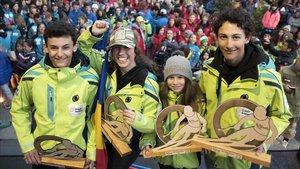 Andorra suma 14 medallas individuales