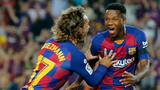 Ansu Fati fue letal ante el Valencia: así fue su partidazo