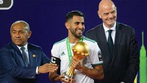 Argelia es el último ganador de la Copa de África
