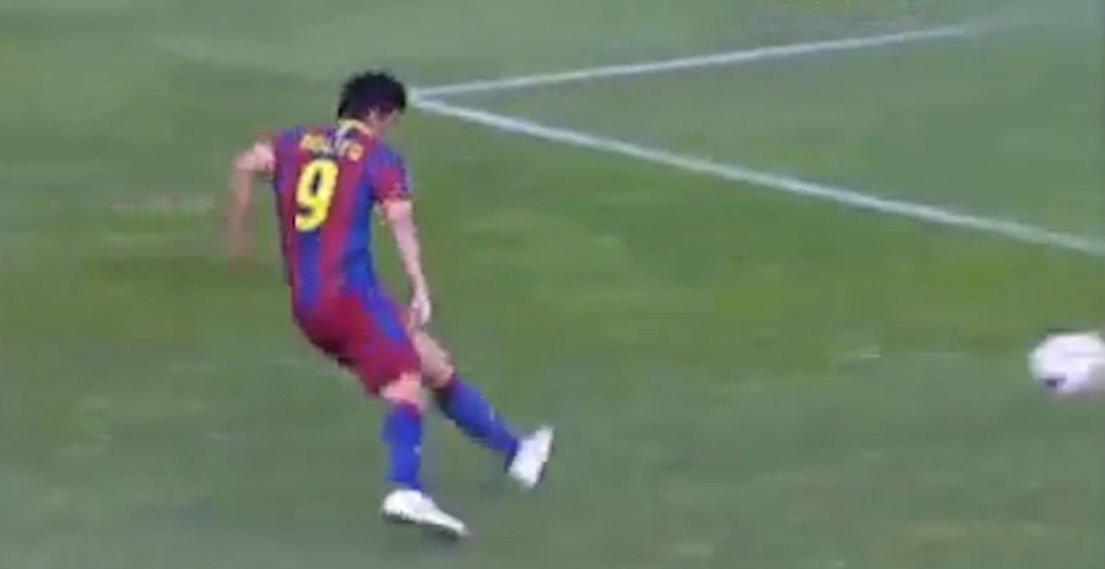 Así marcaba Nolito en el Barça B