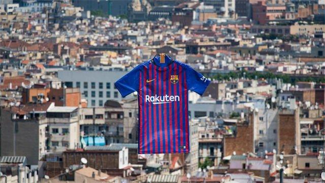 Así es la nueva camiseta del FC Barcelona