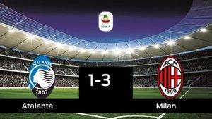 El Atalanta cae derrotado frente al Milan (1-3)