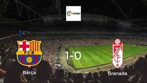Barça cruise to a 1-0 win over Granada at Camp Nou