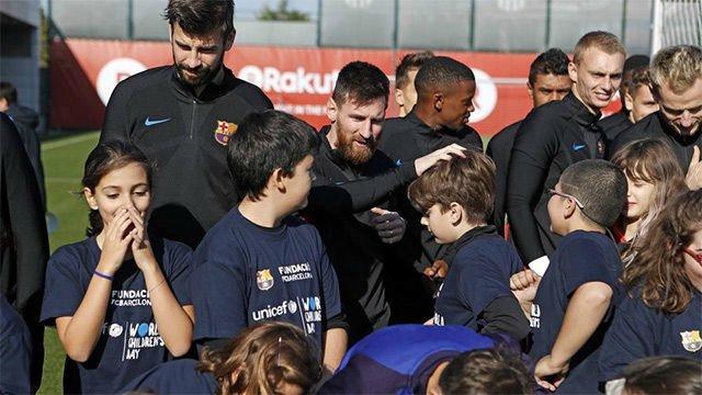 El Barça y su Fundación se unen a la campaña global de UNICEF
