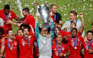 El Bayern Munich campeón de la Champions League