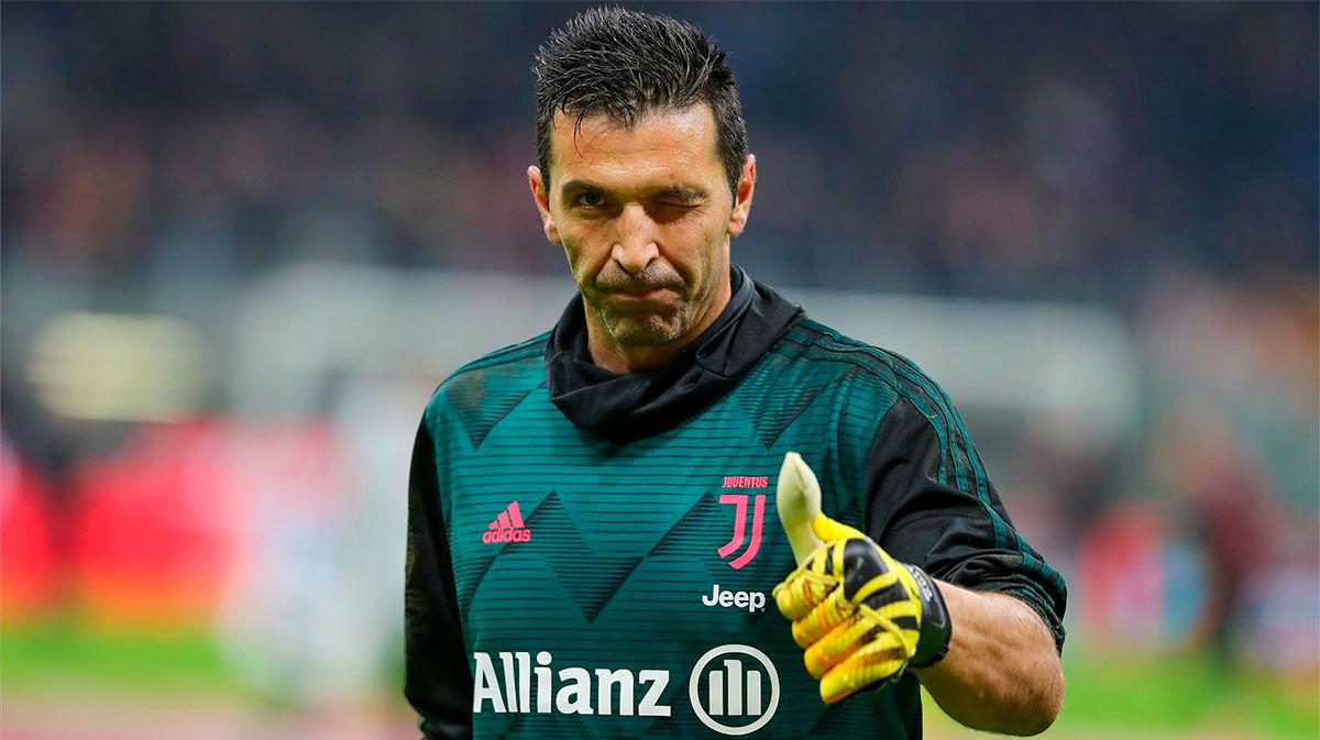 Buffon 648, el hombre récord de Italia